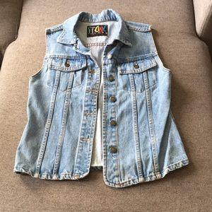 Tops - Vintage jean vest